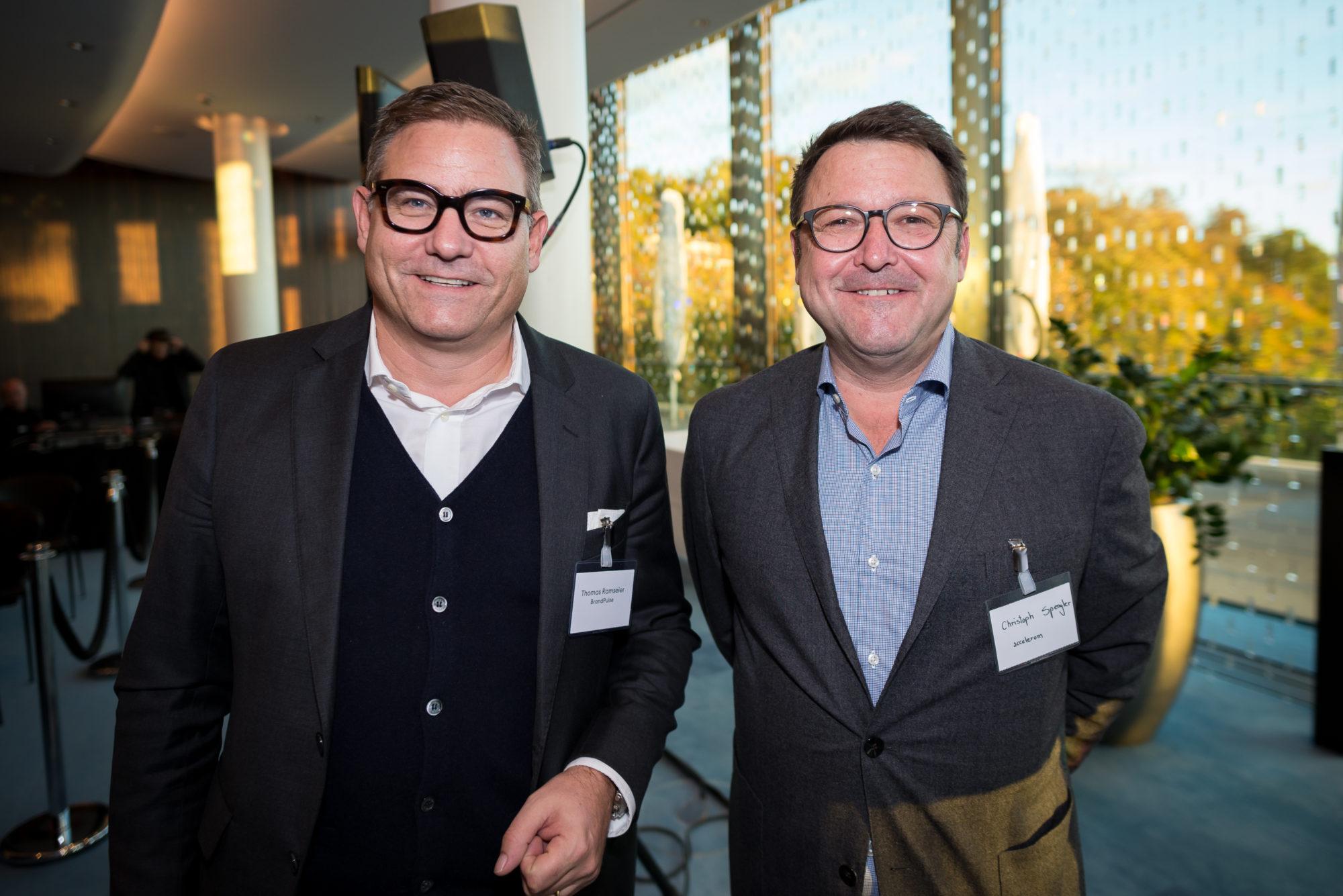 Thomas Ramseier (BrandPulse), Christoph Spengler (accelerom)