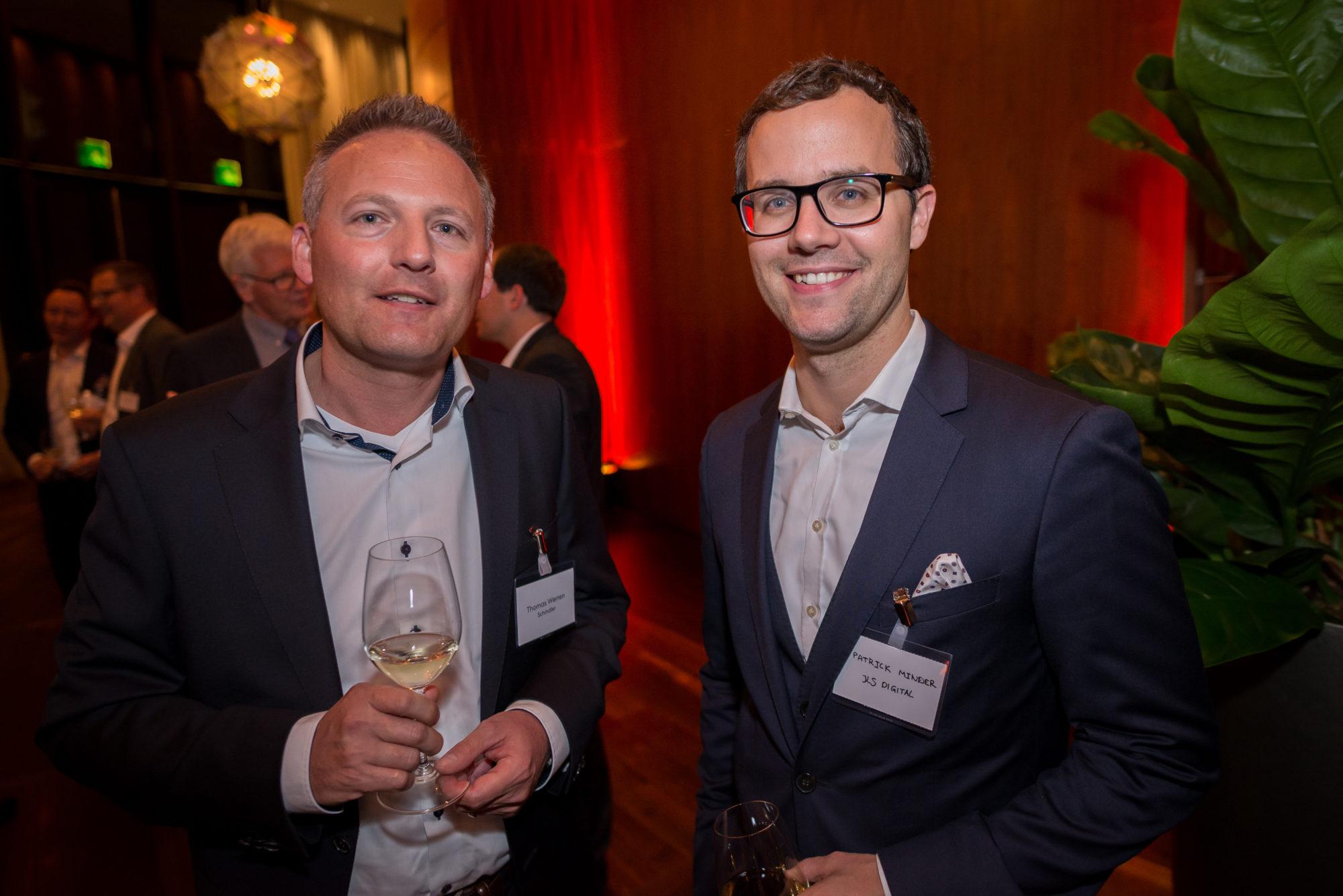Thomas Werren (Schindler), Patrick Minder (KS Digital)