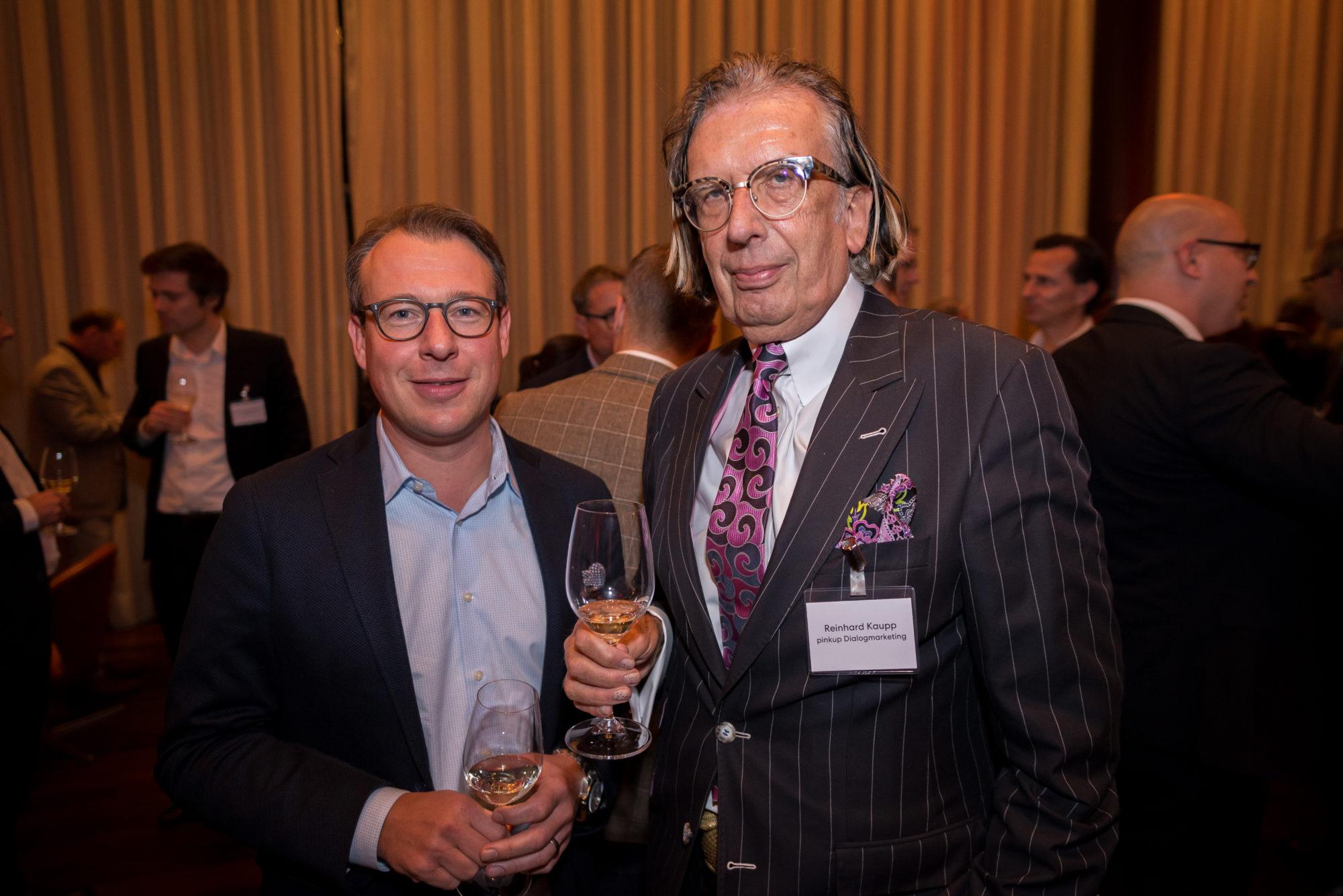 Kai Kruthoff (Stimmt AG), Reinhard Kaupp (Pinkup Dialogmarketing AG)