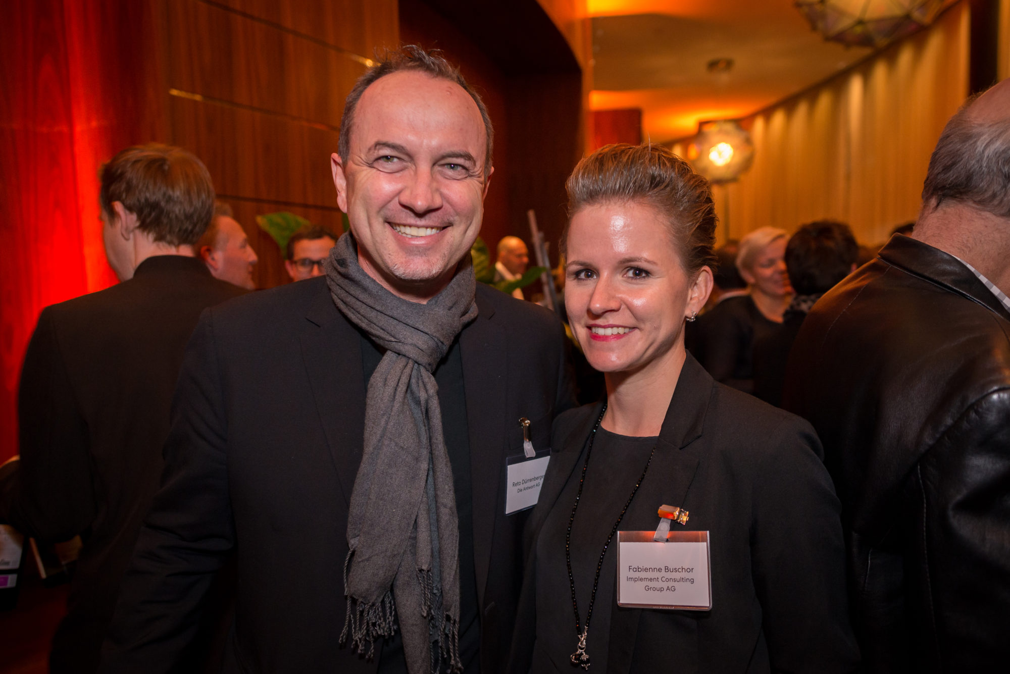Reto Dürrenberger (Die Antwort AG), Fabienne Buschor (Implement Consulting Group AG)