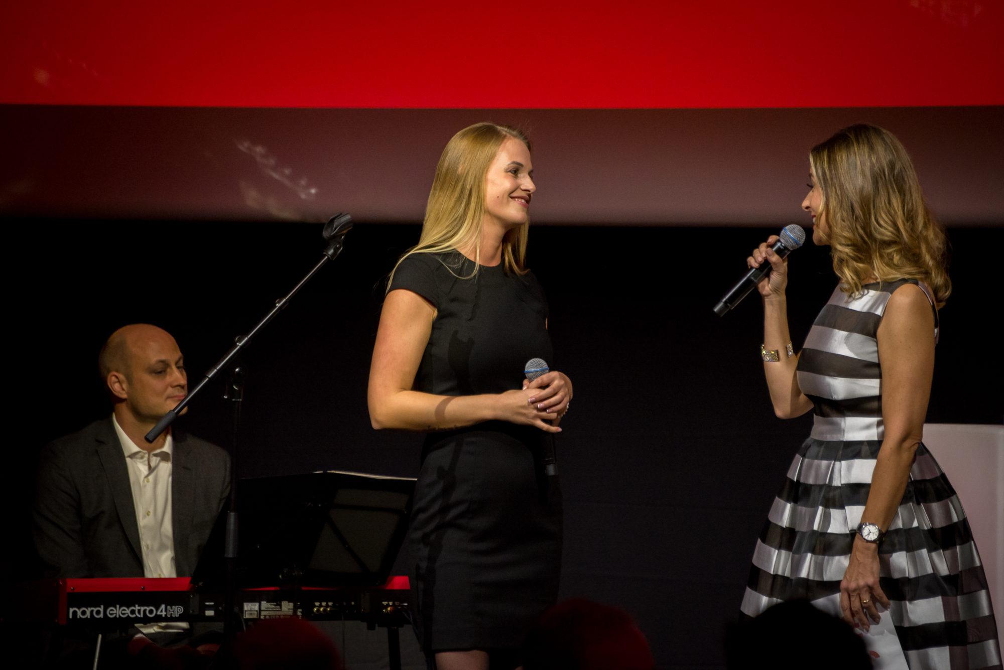Florian Lüthi, Larissa Evans, Sandra Studer